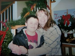 Lorri and youngest son