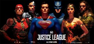 DC Justice League movie poster