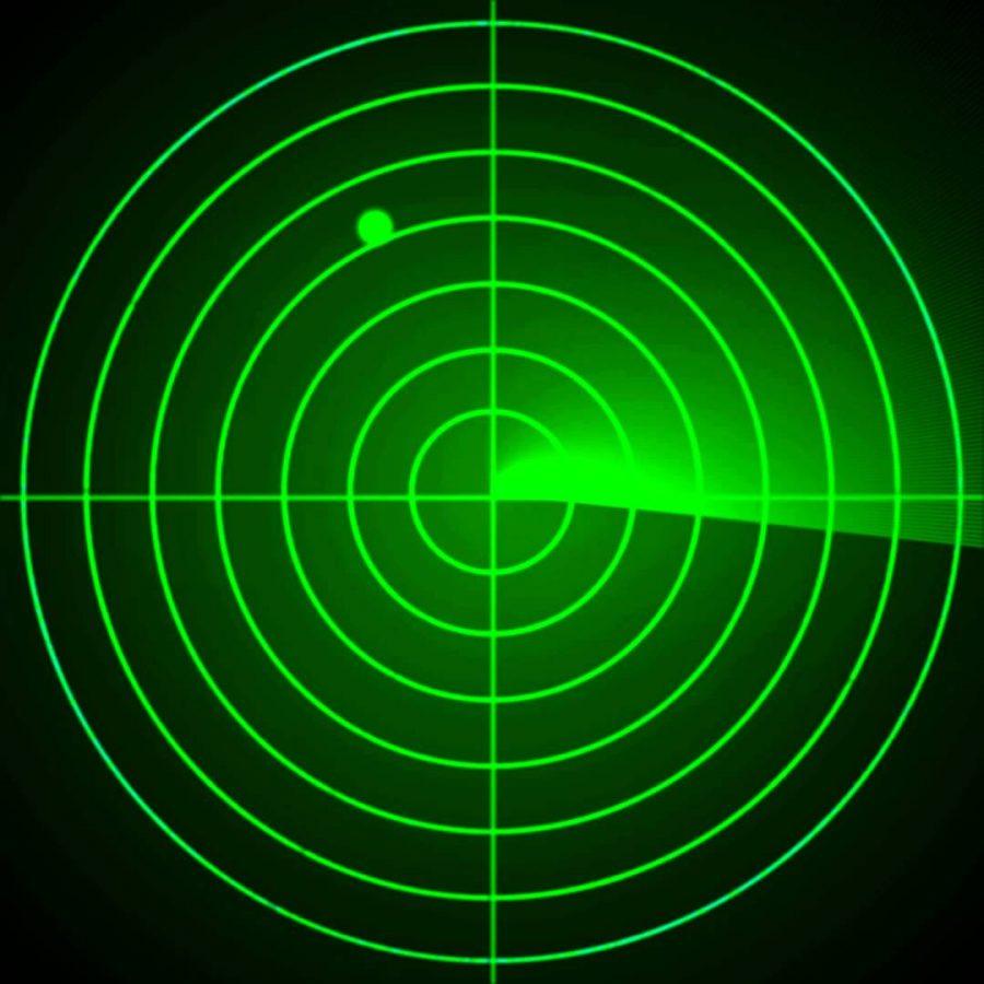 Blip on a radar
