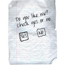 Do you like me note. Check yes or no.