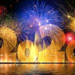 New Year's 2020 fireworks