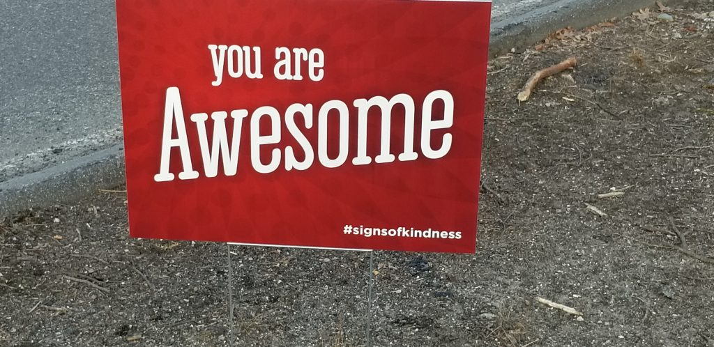 You are Awesome sign