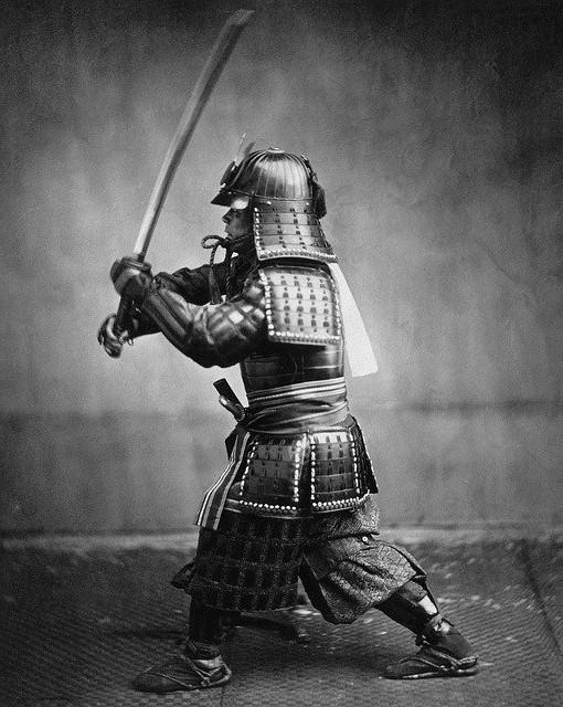 Samurai welding sword